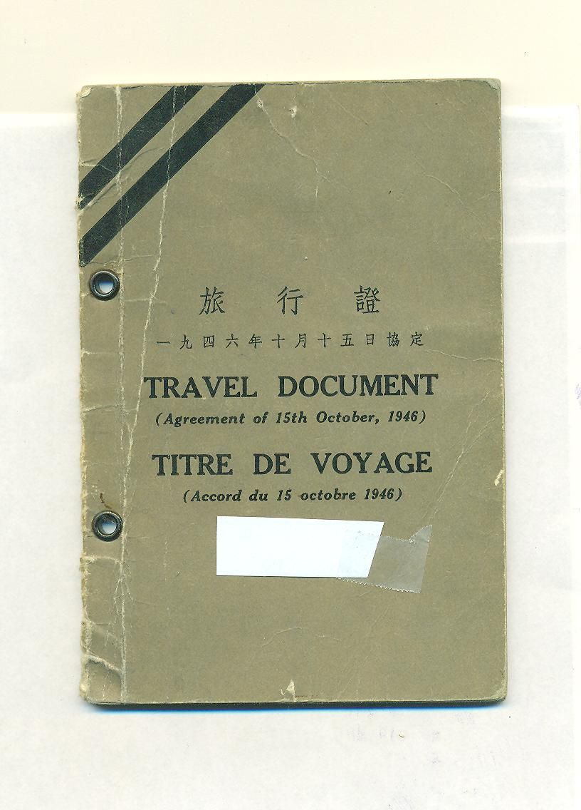 what is a canadian refugee travel document