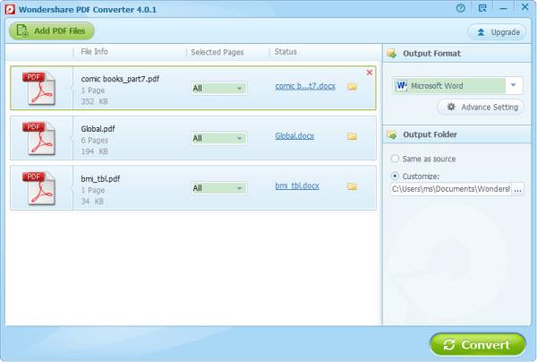 convert pdf to word document windows 10