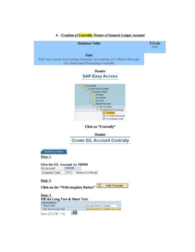 sap co document header table