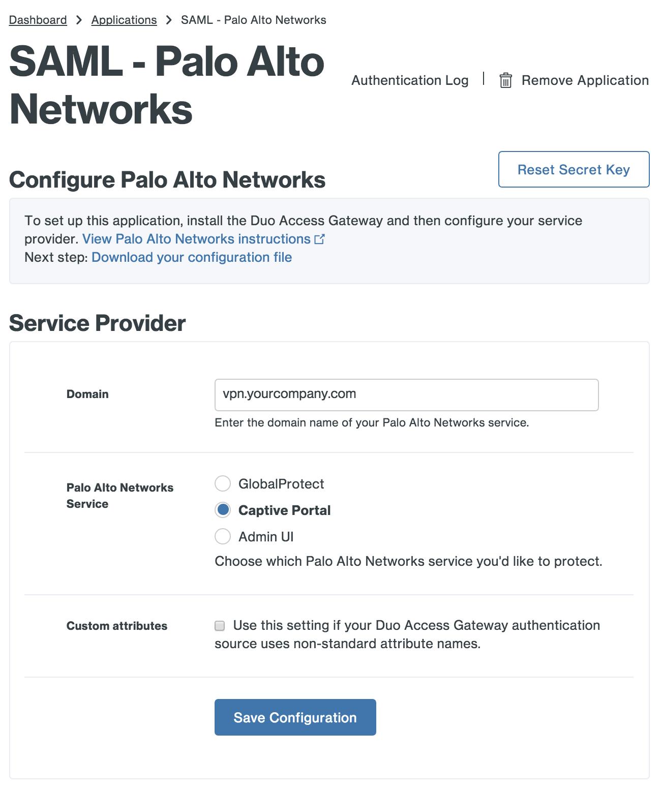 palo alto networks documentation