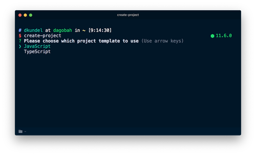 how to write npm documentation