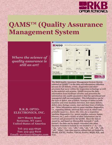 quality assurance document management system