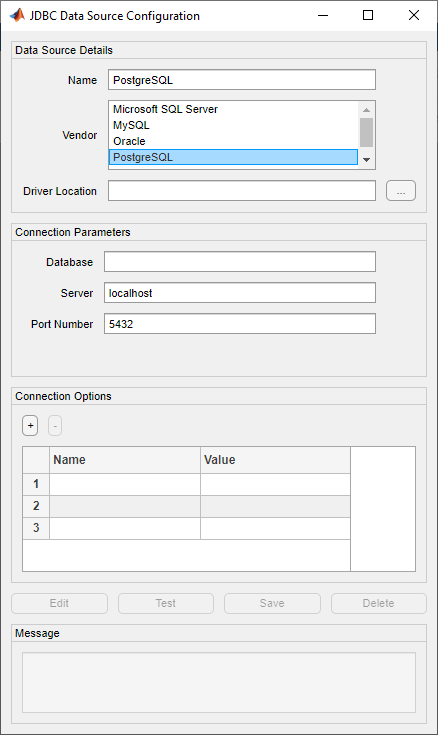 postgres jdbc driver documentation