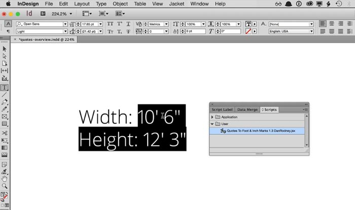 indesign error the active document uses multiple page sizes