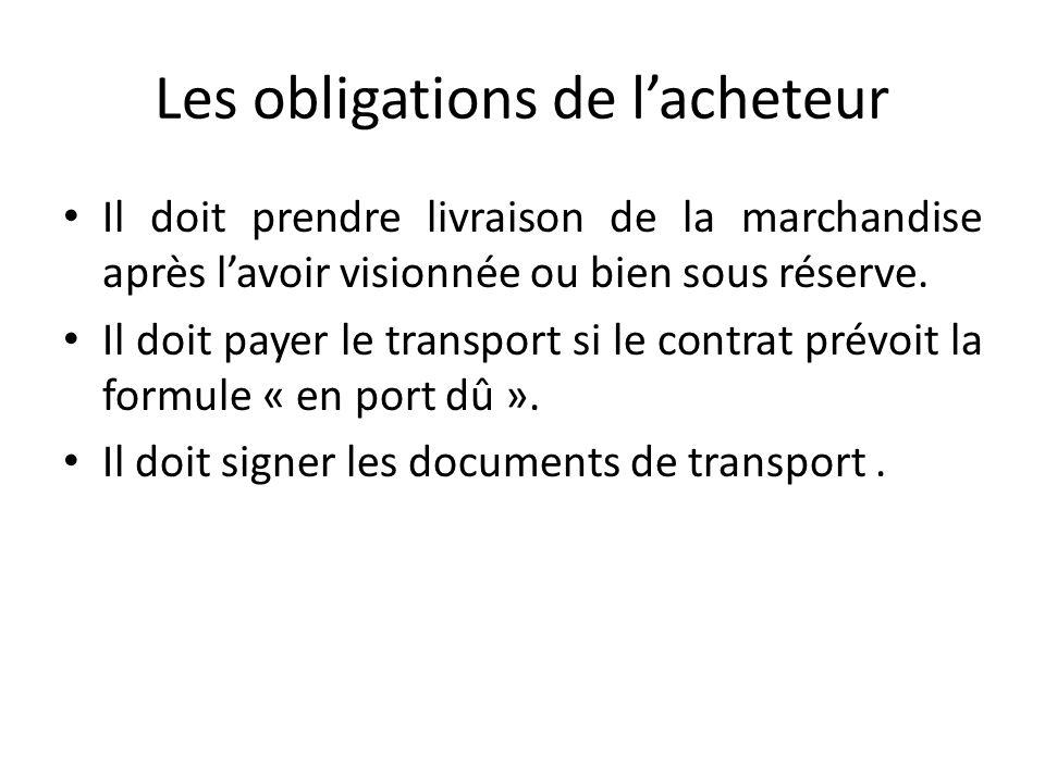 bon de livraison document de transport