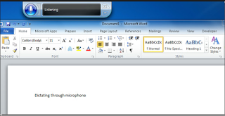 can cortana type a word document