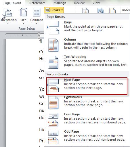insert images into word document like magazine