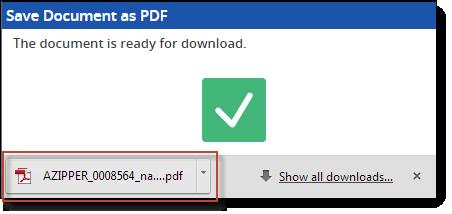 pdf save as chrome html document