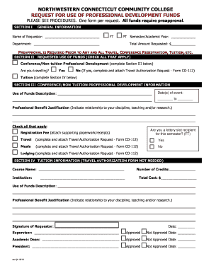 document change request form template