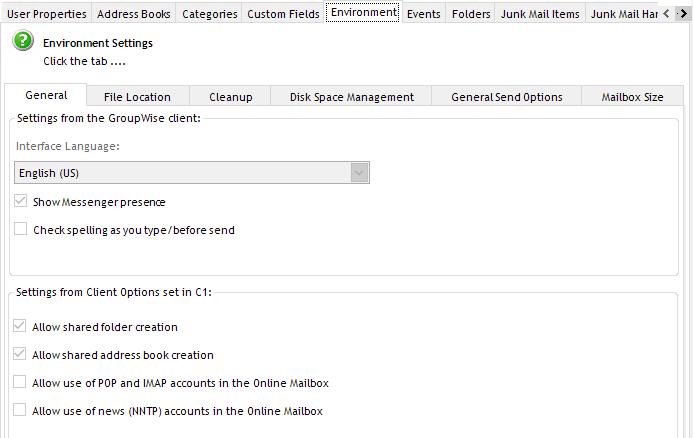 groupwise mailbox management api documentation