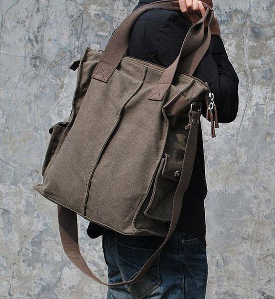 document bag with shoulder strap