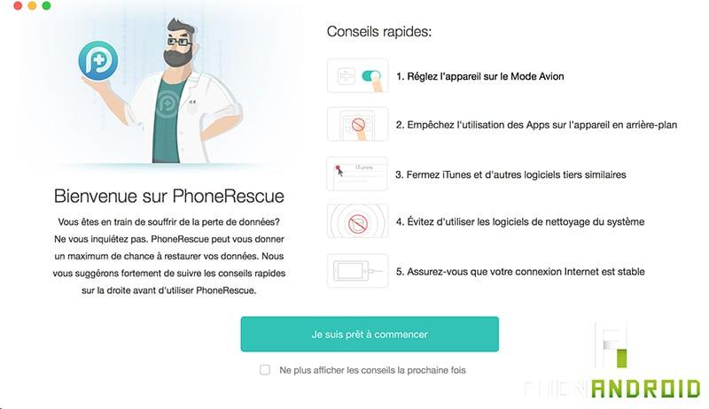 document supprime par erreur android
