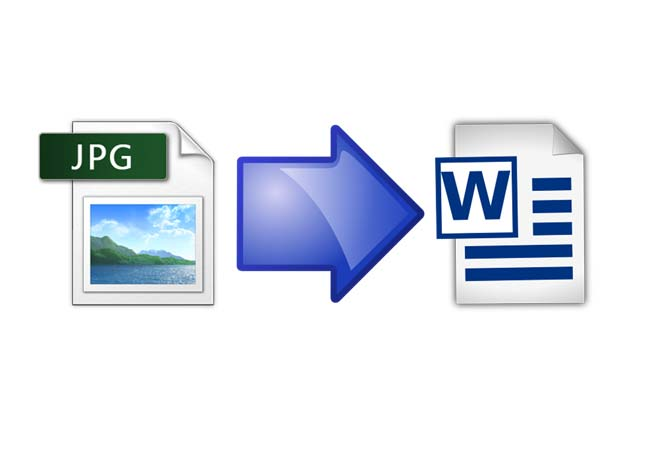 how to convert word document into jpeg image