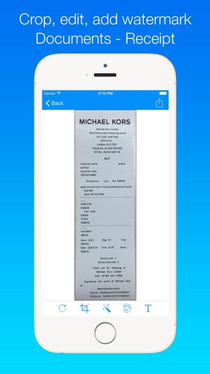 best free ipad document scanner
