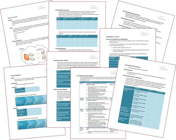 it infrastructure documentation template