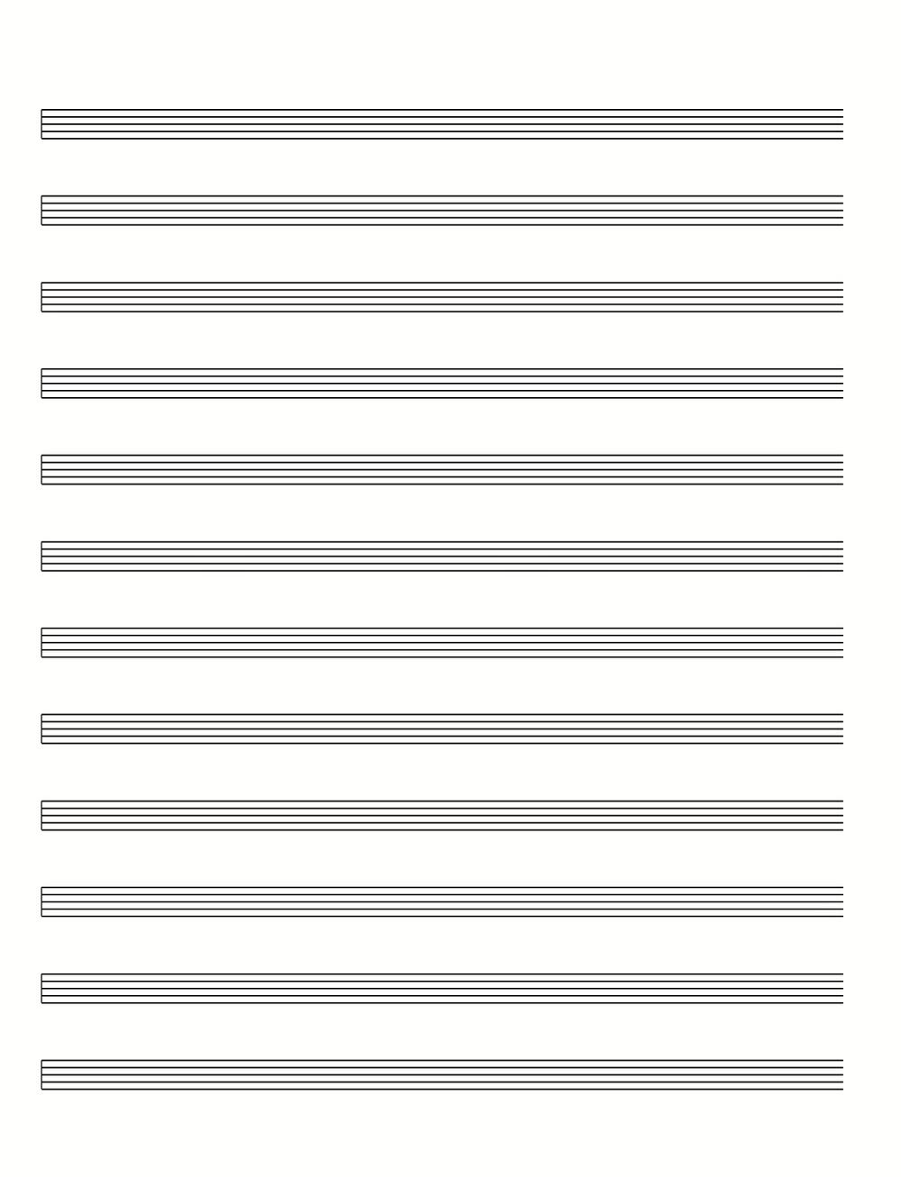 blank guitar music sheet word document