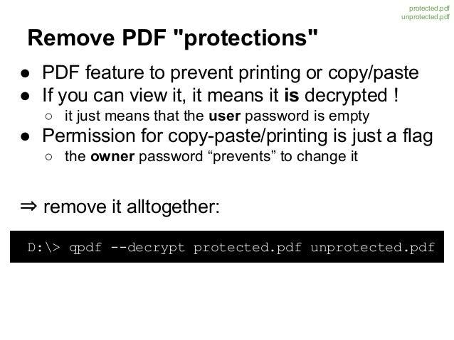 qpdf how to copy document