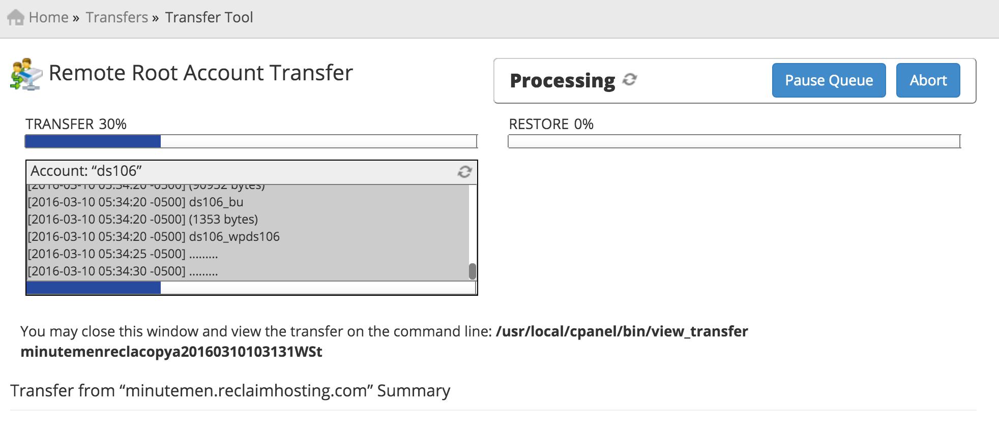 cpanel dns cluster documentation