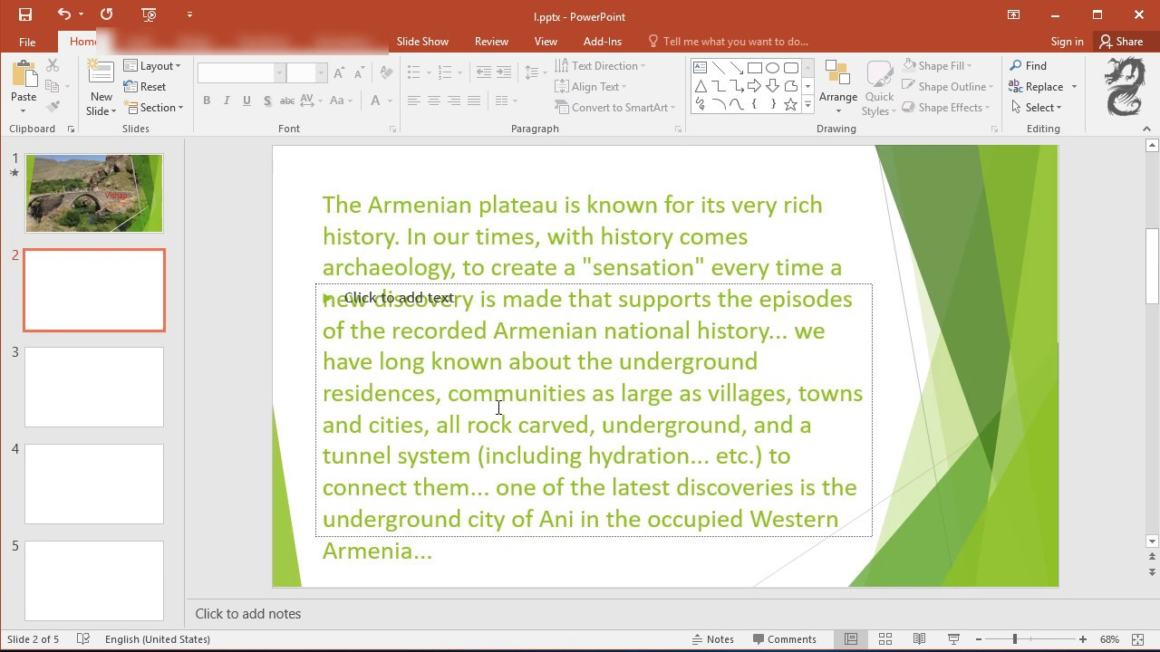attach a word document into powerpoint