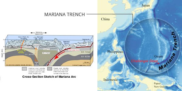document recovered from the marianas trench