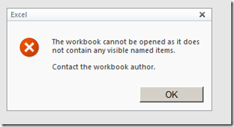 document will not open in excel