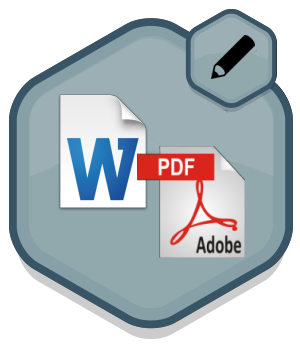 how to fill in word document form