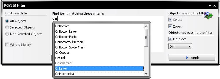 looker documentation filter on a list