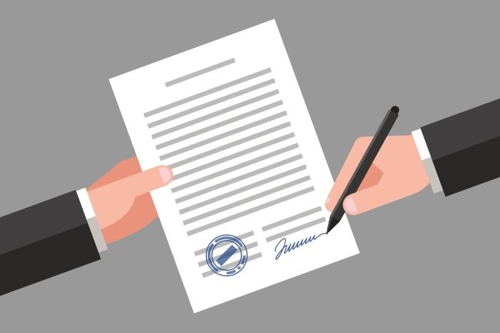 oublier de signer le document eic canada