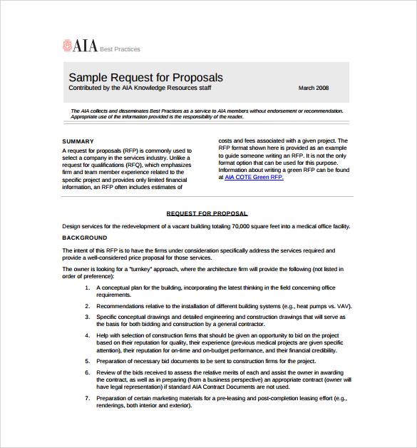 project proposal sample document pdf