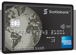 scotia bank document american express