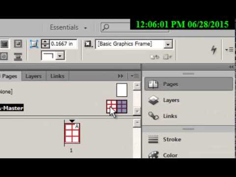 why save as indesign template v document