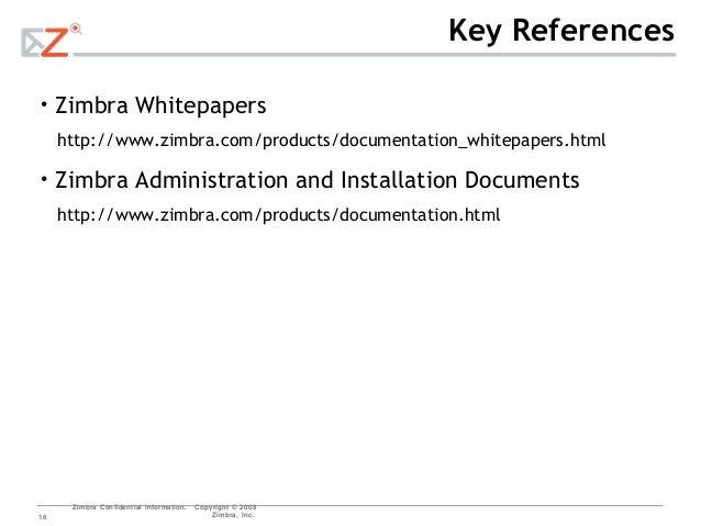 zimbra 8.7 documentation